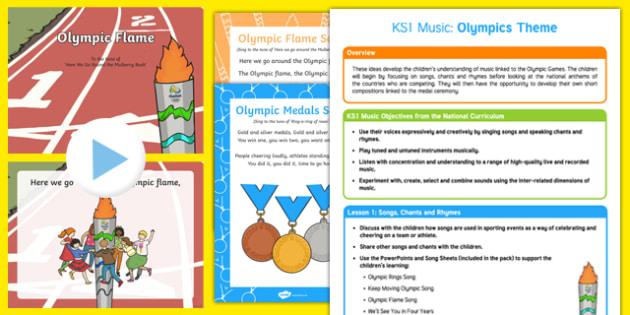KS1 Olympics Music Teaching Ideas