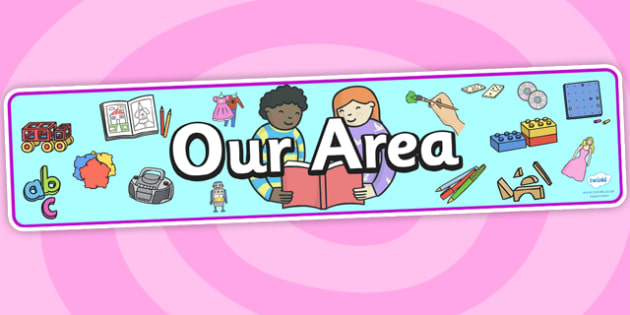 Our Area Display Banner - our area, display banner, display, banner