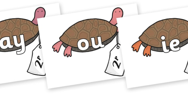 Phase 5 Phonemes on Terrapin to Support Teaching on The Great Pet Sale - Phonemes, phoneme, Phase 5, Phase five, Foundation, Literacy, Letters and Sounds, DfES, display