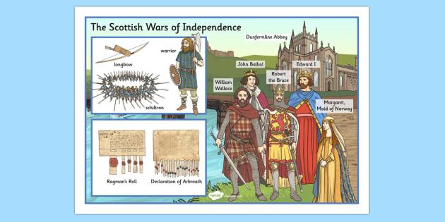 The Scottish Wars of Independence Large Display Poster - scottish