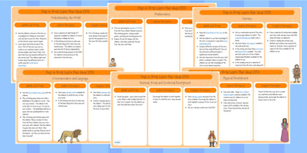 Puss in Boots EYFS Lesson Plan Ideas - lesson ideas, early years