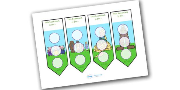Traditional Tales Sticker Reward Bookmark 30mm - bookmarks, reward bookmark, traditional tales reward bookmark, traditional tales sticker bookmark, 30mm