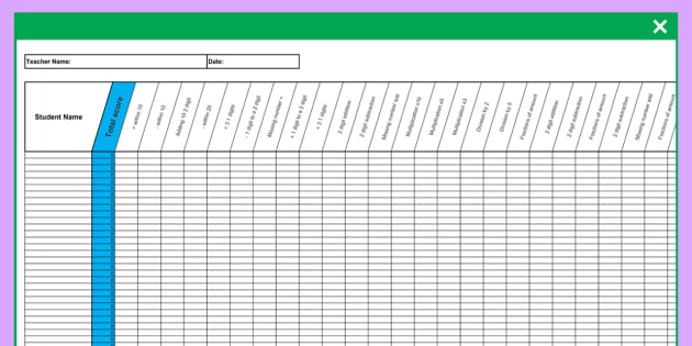 Y2 Maths SATs Analysis Grid for Sample Maths Papers - year 2, maths, sats, analysis, grid, maths papers ks1, key, stage 1, one, assessment