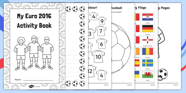 EYFS Euro 2016 Nursery FS1 Activity Booklet