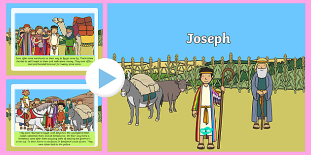 Joseph Story PowerPoint - jospeh, the story of joseph, joseph powerpoint, story of jopseph powerpoint, bible stories, bible story powerpoints, christianity