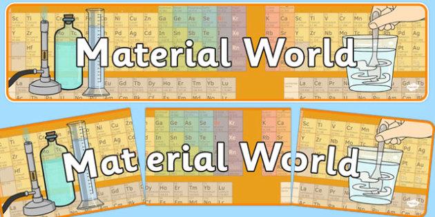 Material World Display Banner NZ - nz, new zealand, material world, display banner, display