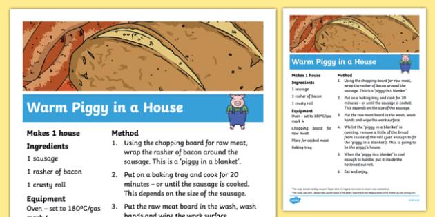 Warm Piggy in a House Recipe