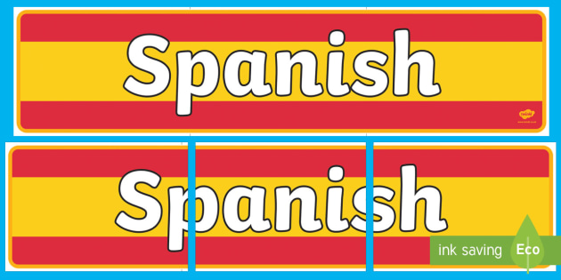 Spanish Display Banner - MFL, Spanish, Modern Foreign Languages, Spanish numbers, foundation, languages, display, Espanol, numeracy, banner, display