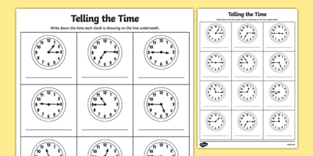 Quarter Past and Quarter to Times Activity Sheet -  o'clock, half past, quarter to, times, activity, quater, Timw, telling time, 15 minutes, hour, clock face, analogue, worksheet