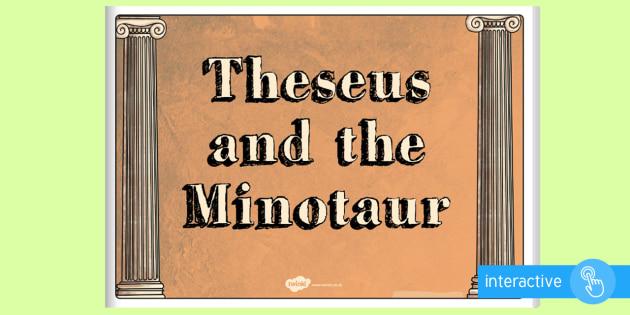 Theseus and the Minotaur eBook - myths, legends, stories, books