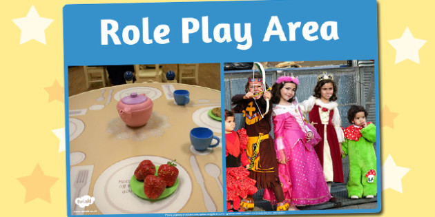 Role Play Area Photo Sign - role play, area, photo, sign, display