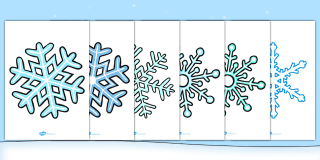 Large Display Snowflakes - large, display, snowflakes, winter, christmas
