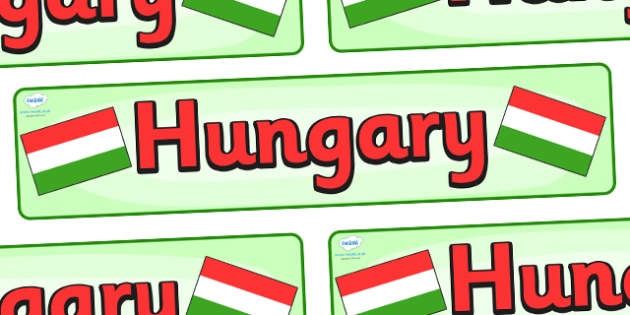 Hungary Display Banner - Hungary, Olympics, Olympic Games, sports, Olympic, London, 2012, display, banner, sign, poster, activity, Olympic torch, flag, countries, medal, Olympic Rings, mascots, flame, compete, events, tennis, athlete, swimming