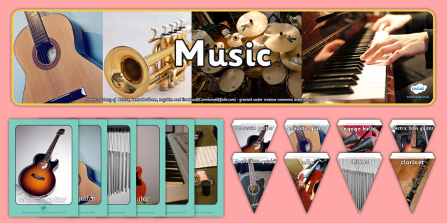 Music Pictures Resource Pack - Picture Cards