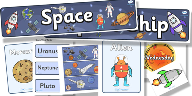 Space Topic Display Pack - space, display pack, display banner, display photos, display, resource pack, display lettering, resources, classroom display