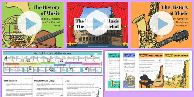 The History of Music Resource Pack - History Club, Music, Ideas, Support, Activity Coordinators, Elderly Care, Care Homes, Life Long Lear
