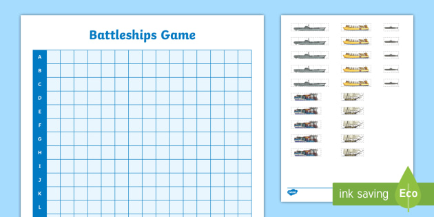 Battleship Game - position, direction, measurements, coordinates,Australia