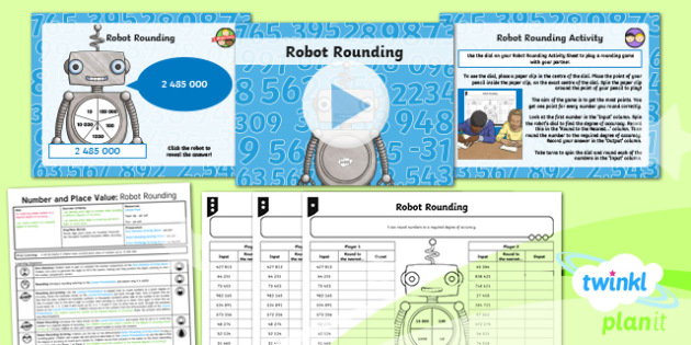 PlanIt Year Y6 Number and Place Value Lesson Pack Rounding Numbers (1)