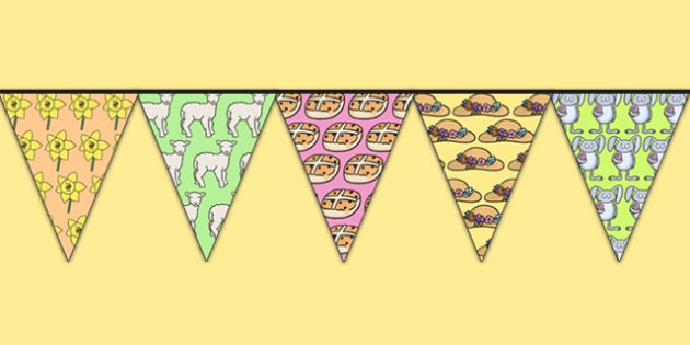 Easter Display Bunting - easter, easter display, religion, RE