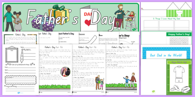 New Zealand Father's Day Resource Pack