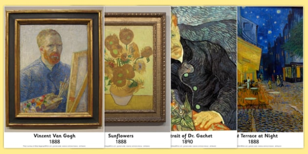 Van Gogh Photo Pack - van, gogh, photo, pack, display, photos