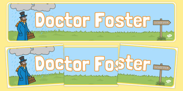 Doctor Foster Display Banner - doctor foster, display banner, display, banner