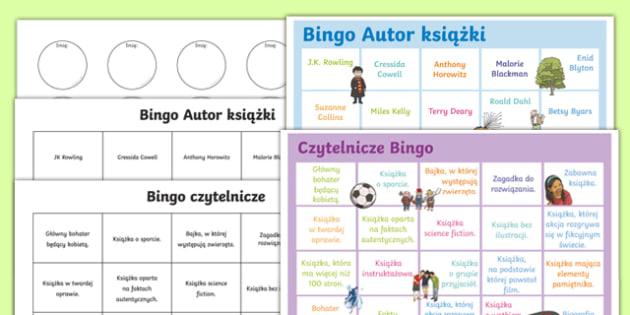 Book reading bingo Polish