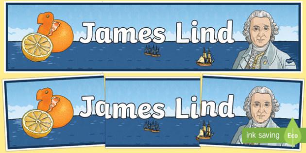 James Lind Display Banner-Scottish