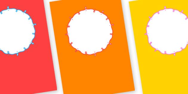 Editable Binder Covers - binder covers, binder, covers, editable covers, editable, covers for binders, editable binders, page covers, organisation, writing