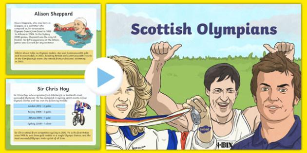 Scottish Olympians PowerPoint-Scottish