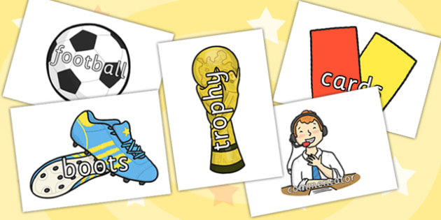 Football World Cup Topic Words on Topic Images - football, sports