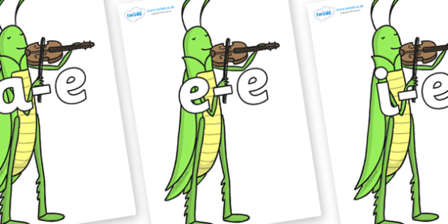 Modifying E Letters on Grasshopper - Modifying E, letters, modify, Phase 5, Phase five, alternative spellings for phonemes, DfES letters and Sounds