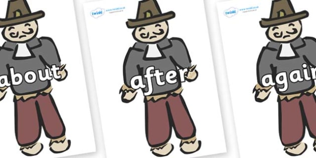 KS1 Keywords on Guy Fawkes - KS1, CLL, Communication language and literacy, Display, Key words, high frequency words, foundation stage literacy, DfES Letters and Sounds, Letters and Sounds, spelling