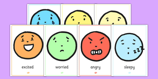 Emotion A4 Face Display Posters - emotion, face, display, posters