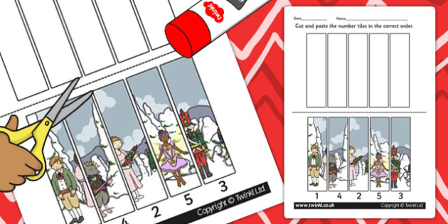 The Nutcracker Number Sequencing Puzzle - nutcracker, number