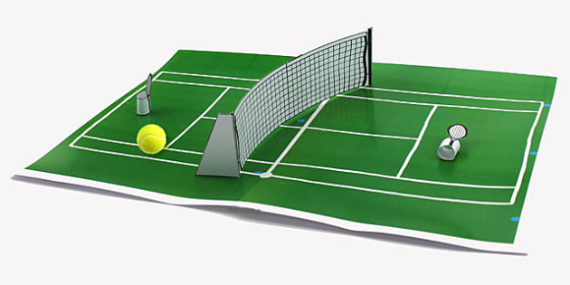 Finger Tennis Game - tennis, sports, games, classroom games, game