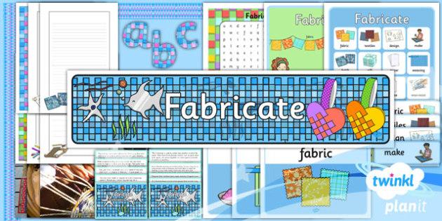 Art: Fabricate KS1 Additional Resources