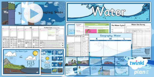 Geography: Water Year 4 Unit Pack