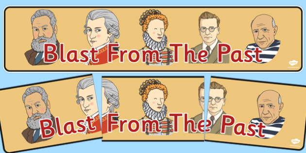 Blast From The Past Display Banner - display banner, blast, past, display, banner