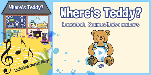 Where's Teddy? Listening Game Resource Pack - where's teddy