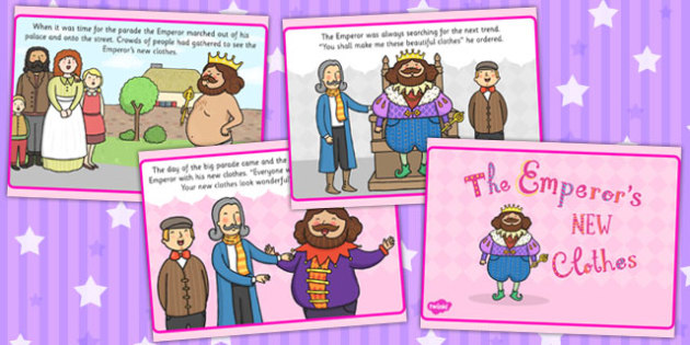 The Emperor's New Clothes PowerPoint - story books, stories, story