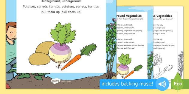 Underground Vegetables Song