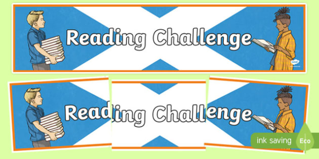 Scottish Reading Challenge Display Banner