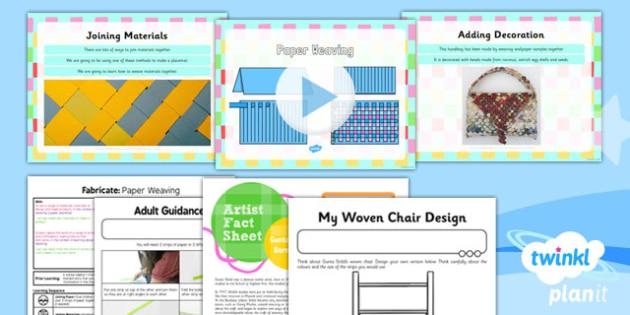 Art: Fabricate: Paper Weaving KS1 Lesson Pack 1