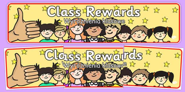 Class Rewards Display Banner Polish Translation - polish, class, rewards, display banner, display, banner