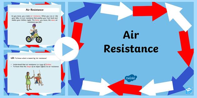 Air Resistance Task Setter PowerPoint-air resistance, air, task setter, task, powerpoint, task setter powerpoint, air resisitance powerpoint