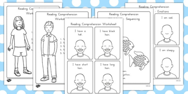 Reading Comprehension Worksheets - australia, reading, comprehension