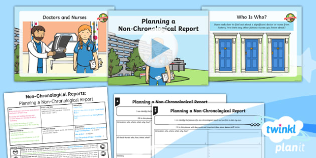 Significant Individuals: Florence Nightingale: Non-Chronological Reports 1 Y2 Lesson Pack - Nurses, Victorians, Crimean war, mini topic, year one history, Mary Seacole