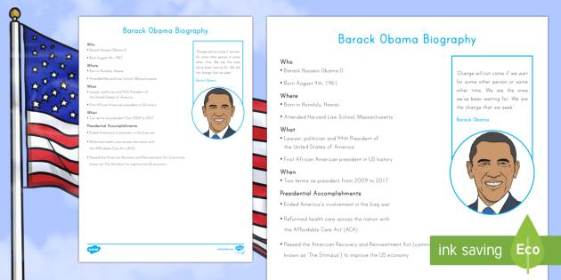 Barack Obama Fast Facts Fact File - American Presidents, American History, Social Studies, Barack Obama, Lyndon B. Johnson, Franklin D.