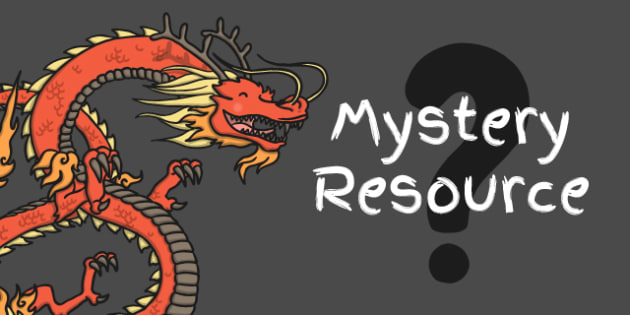 Chinese New Year MYSTERY PowerPoint - mystery, chinese new year